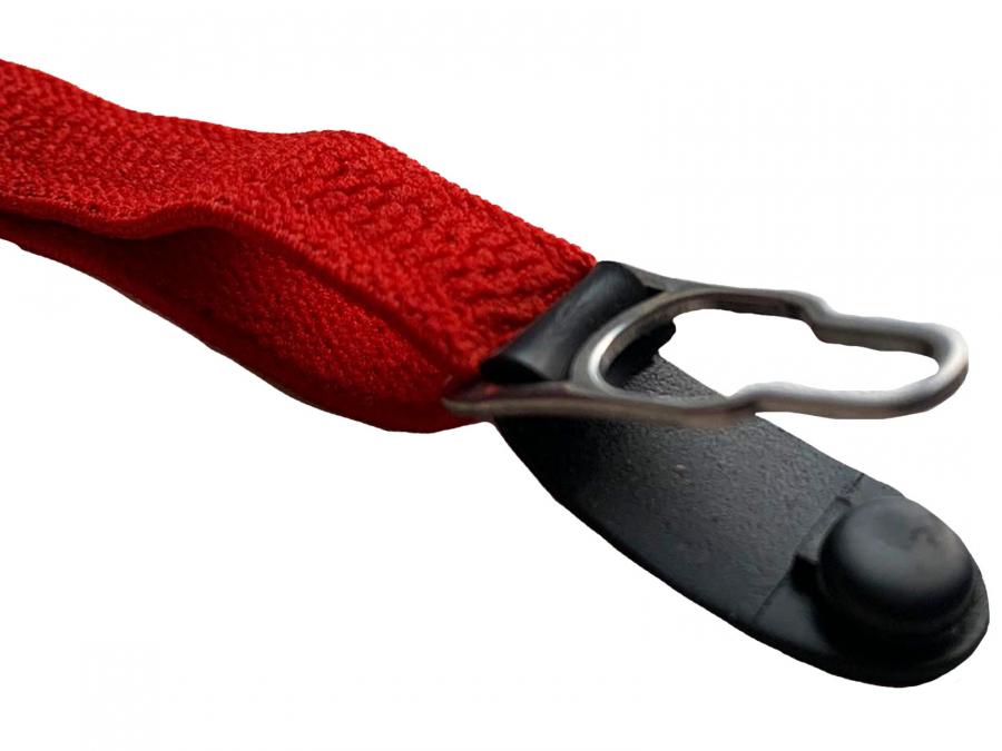 2 4 6 8 12 Rote Strapshalter Punkt Schließe schwarz Korsagen Halter Korsett Strapse Strumpfhalter Clip Metall Z-0011